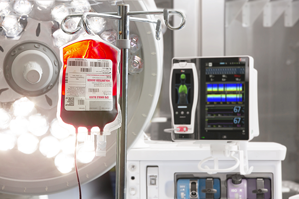 Blood Supplies with SpHb®