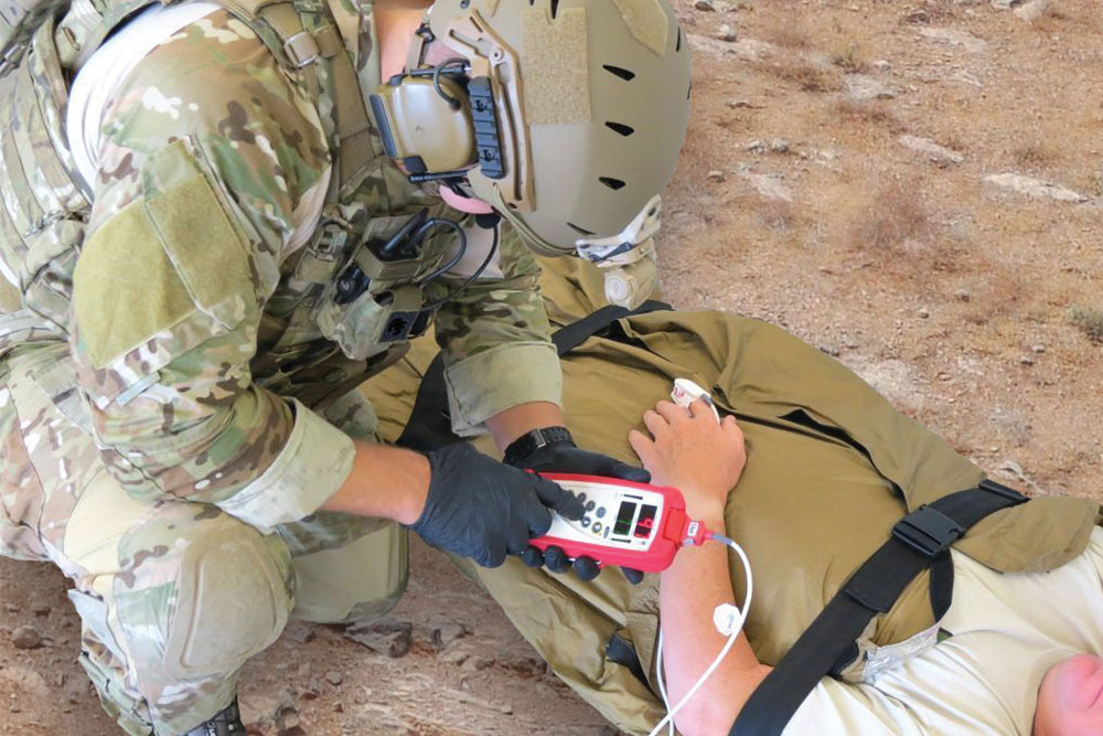 Masimo - Rad-57 being used on the field Armed Forces